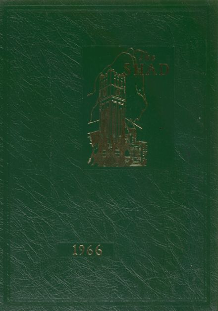1966 Shattuck - St. Mary's School Yearbook Cover