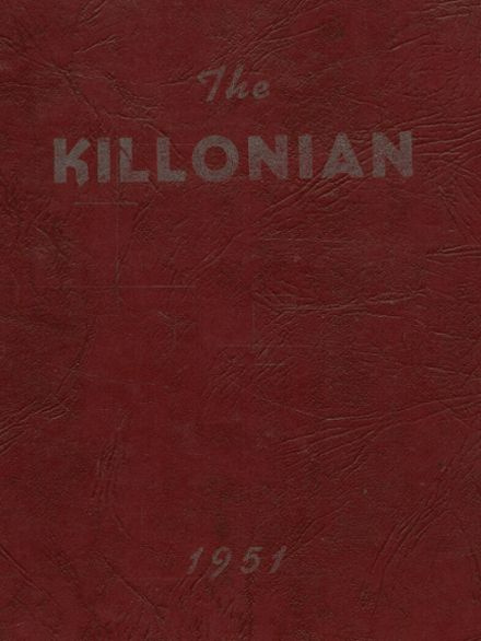 1951 Killingly High School Yearbook Cover
