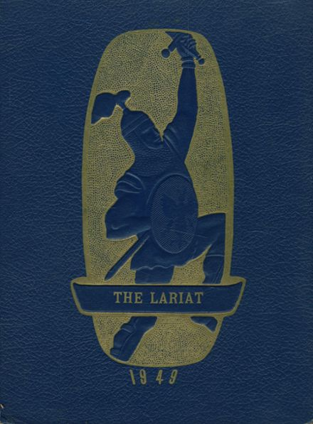 1949 Slidell High School Yearbook Cover