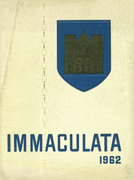 1962 Trenton Catholic Boys' High School Yearbook Cover