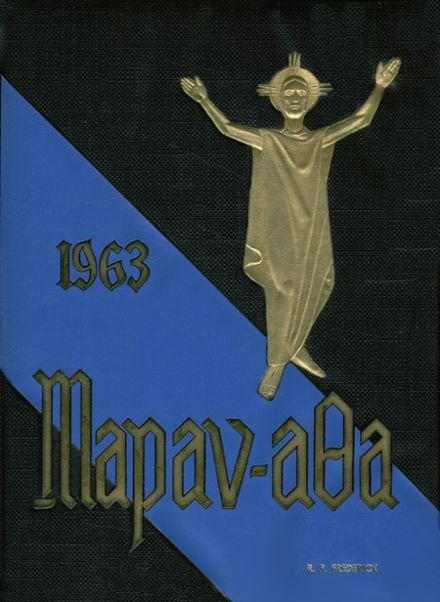 1963 St. Andrew's Seminary Yearbook Cover