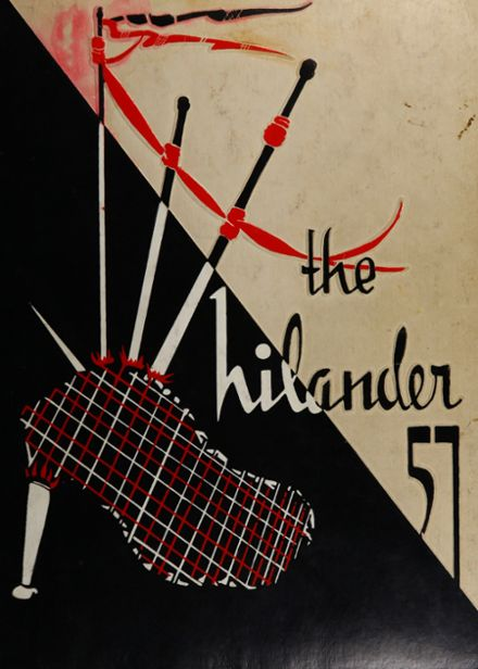1957 Peabody High School Yearbook Cover