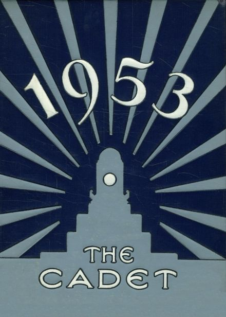 1953 Valley Stream Central High School Yearbook Cover
