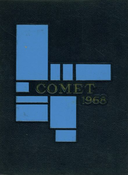 1968 Granby High School Yearbook Cover
