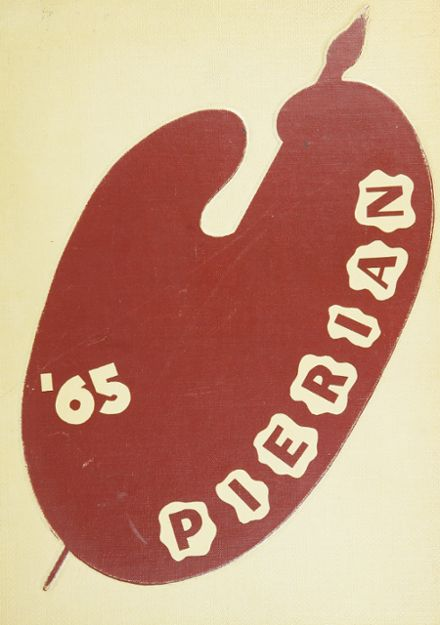 1965 Richmond High School Yearbook Cover