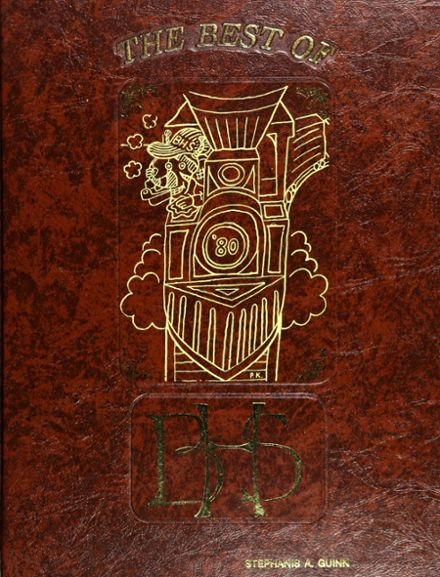 1980 Berkeley High School Yearbook Cover