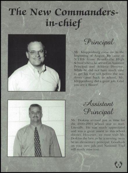 2001 National Trail High School Yearbook Page 7