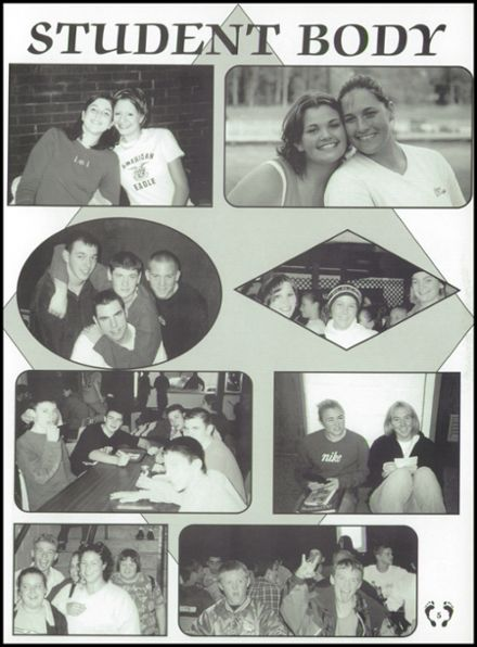 2001 National Trail High School Yearbook Page 9