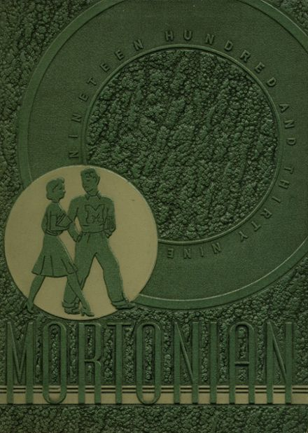 1939 J. Sterling Morton East High School Yearbook Cover