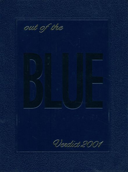 2001 O'Connor High School Yearbook Cover