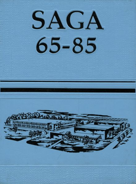1985 Seneca Valley High School Yearbook Cover