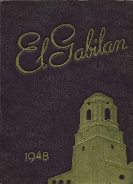 1948 Salinas High School Yearbook Cover