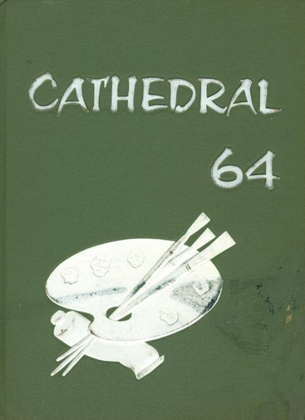 1964 Cathedral Girls' High School Yearbook Cover