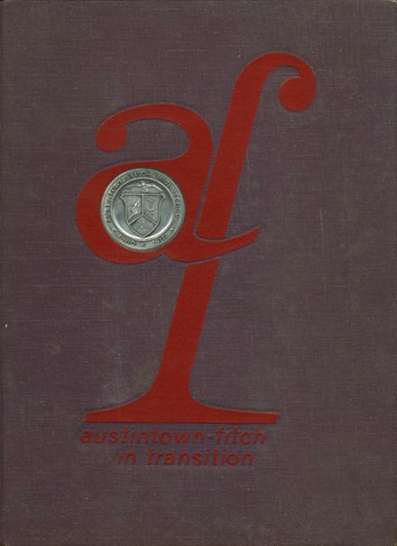 1968 Austintown Fitch High School Yearbook Cover