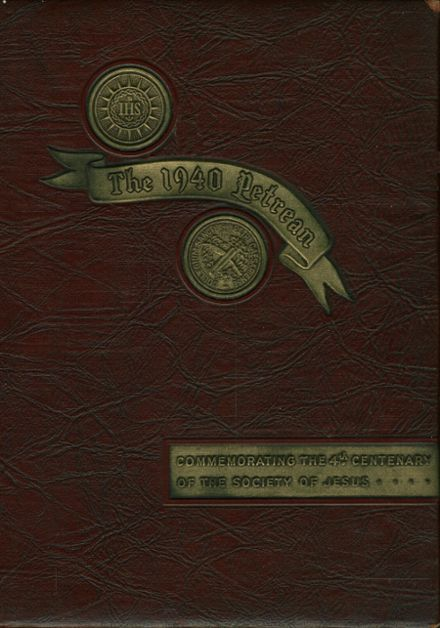 1940 St. Peter's Preparatory School Yearbook Cover