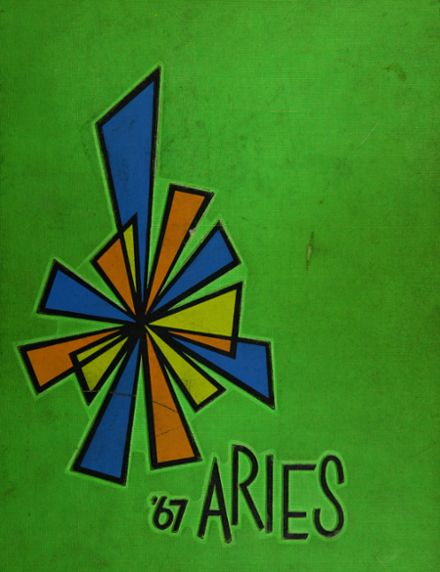 1967 Reavis High School Yearbook Cover