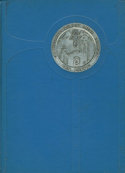 1967 Cathedral Girls' High School Yearbook Cover