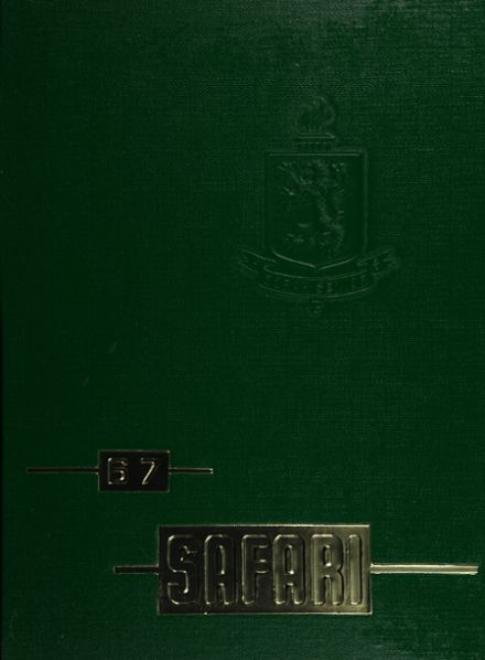 1967 Borah High School Yearbook Cover