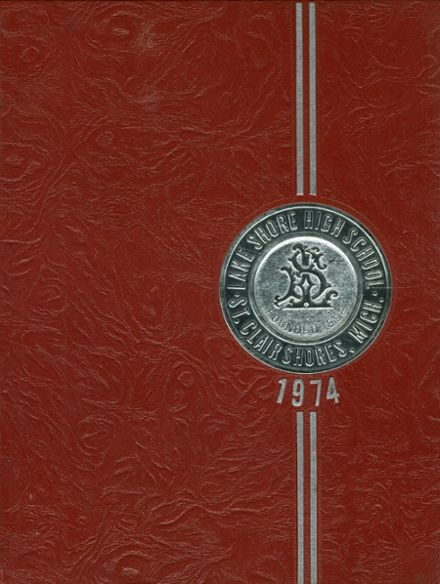 1974 Lake Shore High School Yearbook Cover
