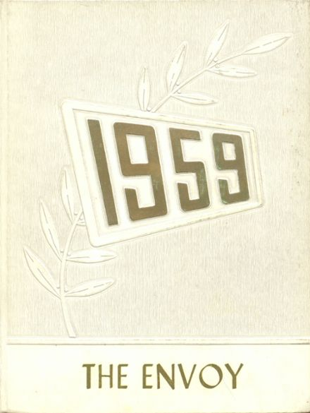 1959 L'Anse High School Yearbook Cover