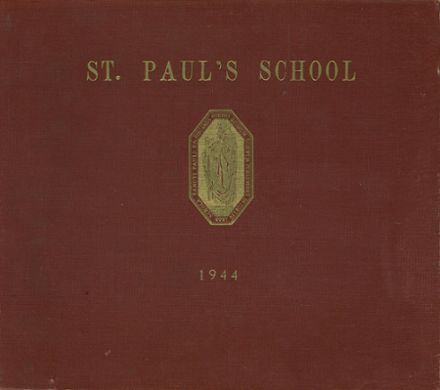 1944 St. Paul's School Yearbook Cover