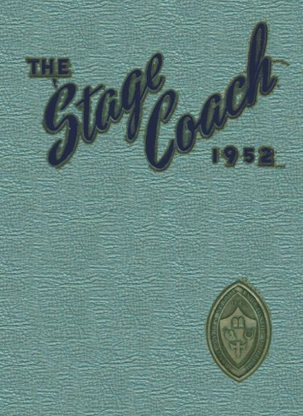 1952 St. Mary's College Preparatory Yearbook Cover
