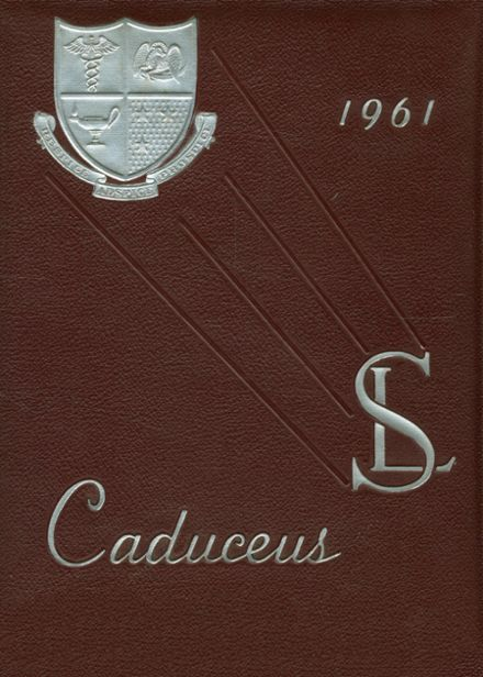 1961 St. Luke's School Yearbook Cover