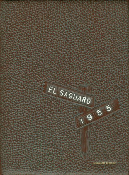1955 Yuma Union High School Yearbook Cover