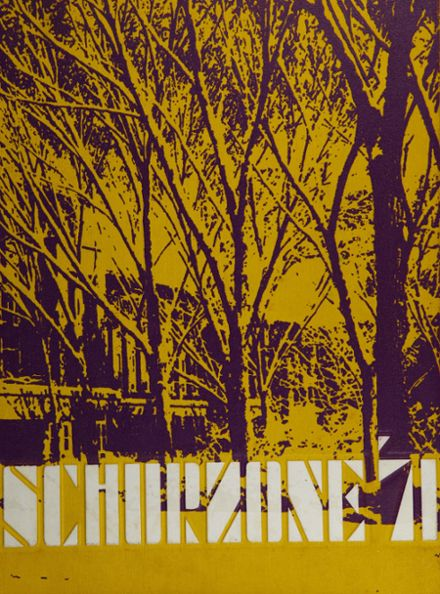 1971 Schurz High School Yearbook Cover