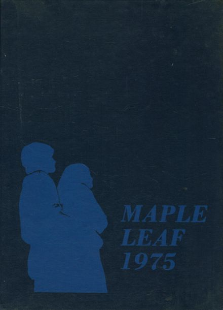 1975 Hornell High School Yearbook Cover