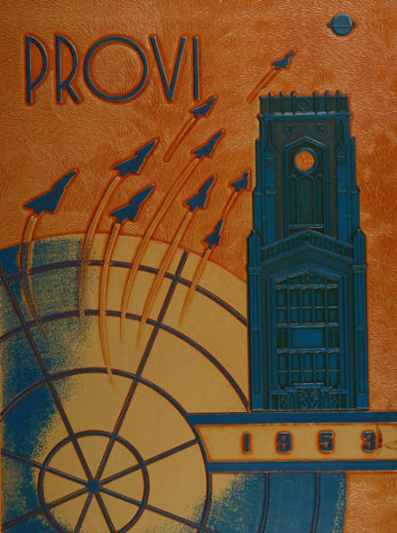 1953 Proviso East High School Yearbook Cover