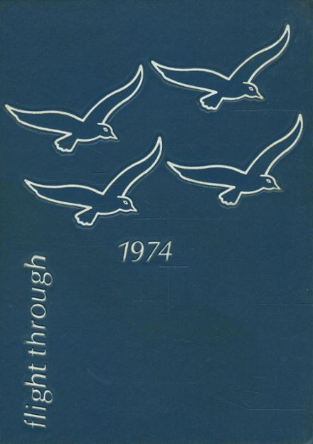 1974 Hamilton High School Yearbook Cover