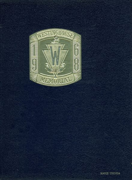 1968 Westinghouse Memorial High School Yearbook Cover