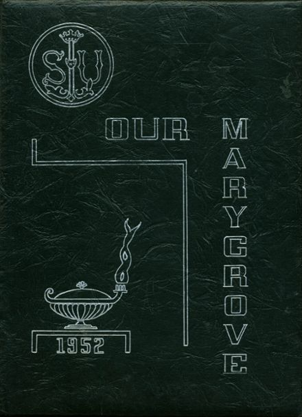 1952 St. Ursula's Academy Yearbook Cover