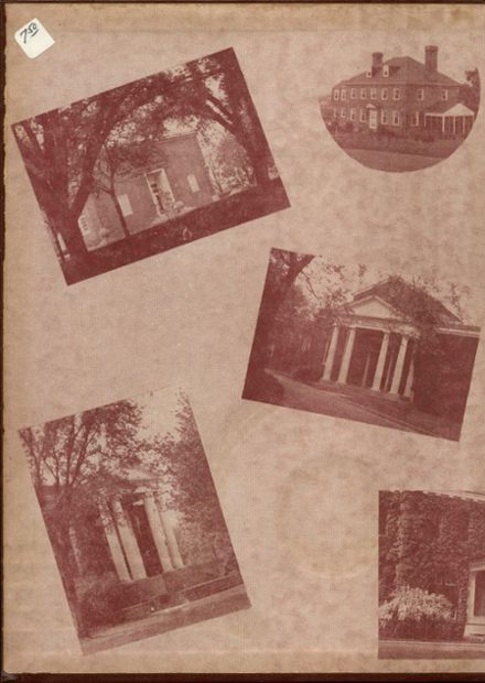 1954 Episcopal High School Yearbook Page 2