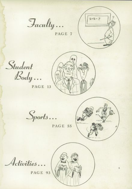 1954 Episcopal High School Yearbook Page 9