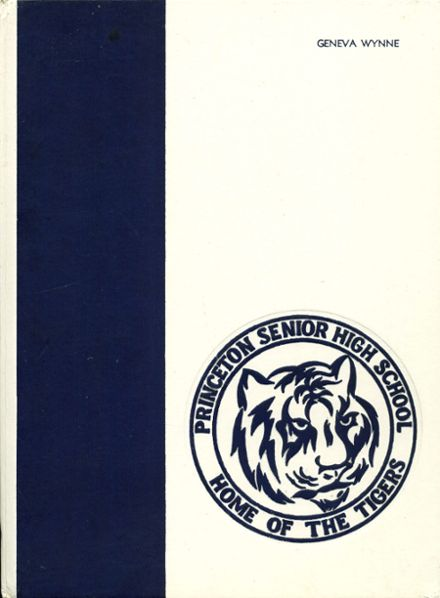 1986 Princeton High School Yearbook Cover