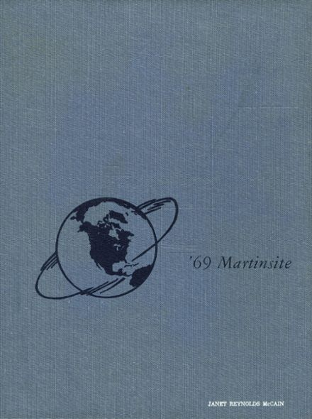 1969 St. Martin's Academy Yearbook Cover