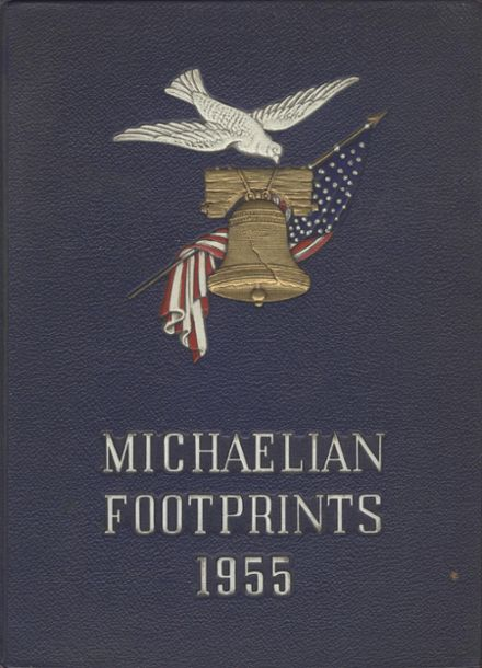 1955 St. Michael's High School Yearbook Cover