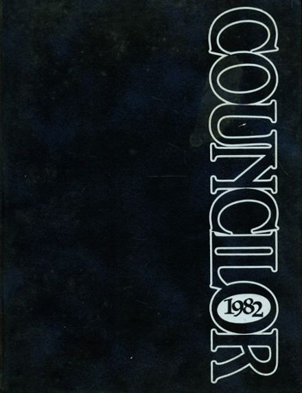 1982 Council Rock High School Yearbook Cover