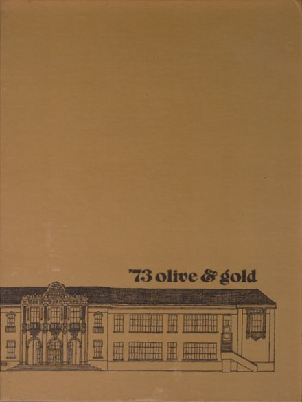 1973 Santa Barbara High School Yearbook Cover
