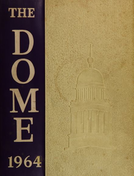 1964 Pittsfield High School Yearbook Cover