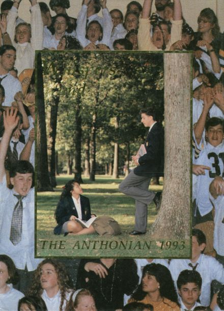 1993 St. Anthony's High School Yearbook Cover