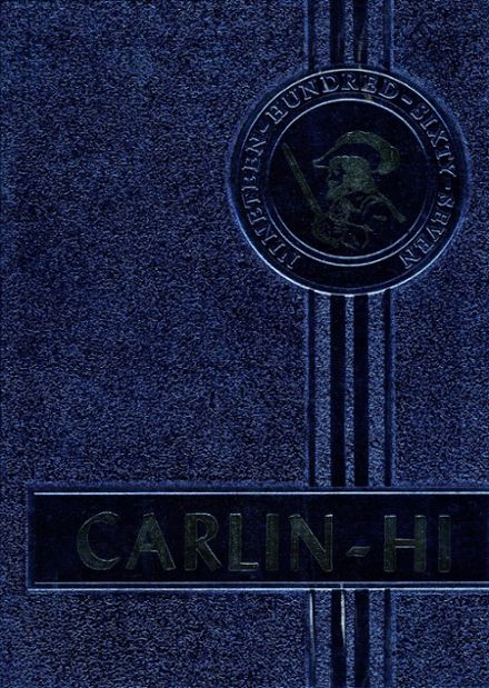 1967 Carlinville High School Yearbook Cover