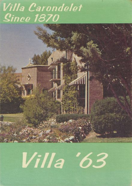 1963 St. Joseph's School Yearbook Cover