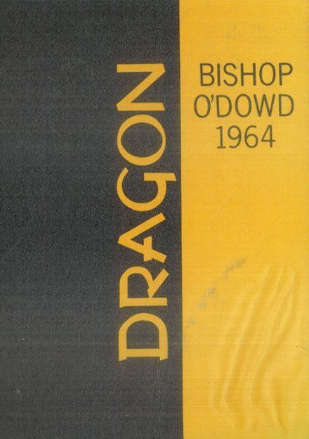 1964 Bishop O'Dowd High School Yearbook Cover