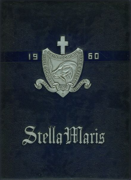1960 St. Dominic's High School Yearbook Cover