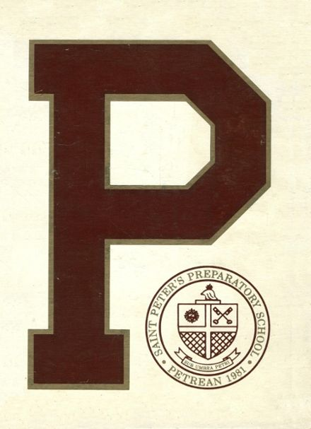 1981 St. Peter's Preparatory School Yearbook Cover