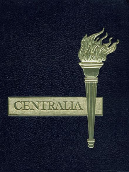 1966 Bay City Central High School Yearbook Cover