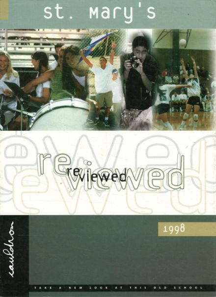 1998 St. Mary's High School Yearbook Cover